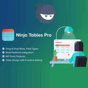 Ninja Tables Pro – WP DataTables Plugin