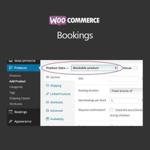 WooCommerce Bookings – Plugin (Most Popular)
