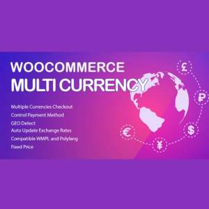 WooCommerce Multi Currency Premium – Currency Switcher