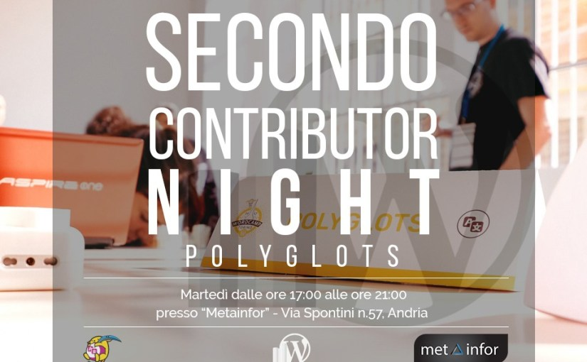 Secondo Contributor Night Polyglots: traduciamo con la GTE Laura Sacco