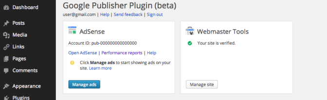 Plugin: Google Publisher Plugin