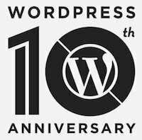 WordPress 10º aniversario