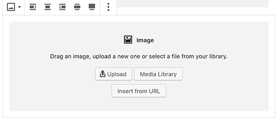 Image block in new WordPress editor