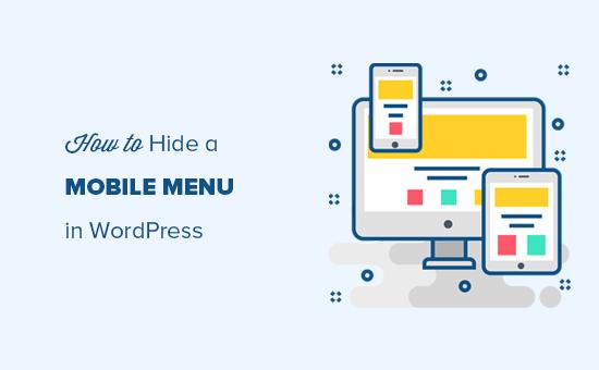 Hiding a WordPress menu on mobile