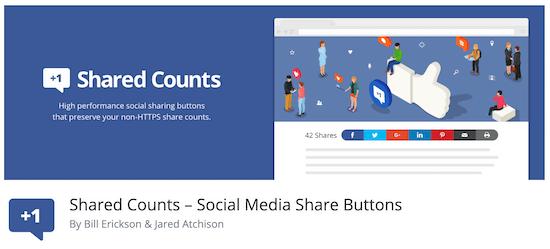 Shared counts Jetpack alternative