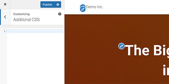 Additional CSS tab