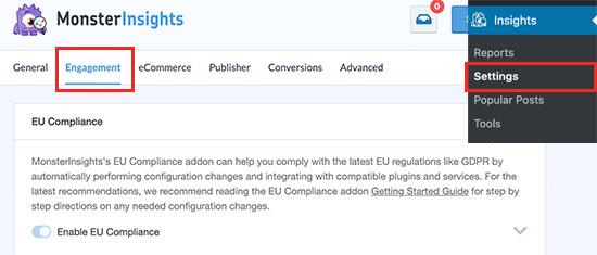 EU Compliance addon status