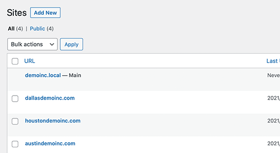 Custom domains for WordPress sites on a multisite network