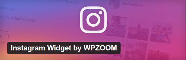 Instagram Widget by WPZOOM Plugin