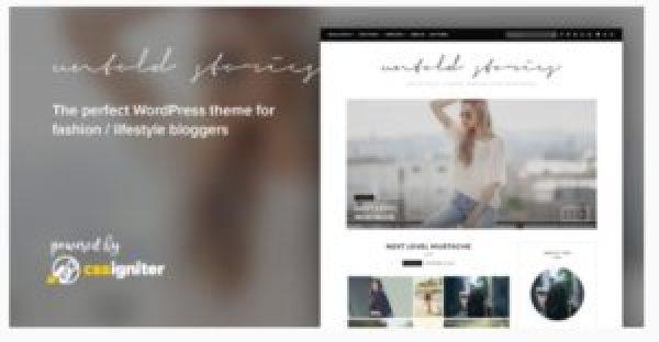 Tema WordPress Untold Stories
