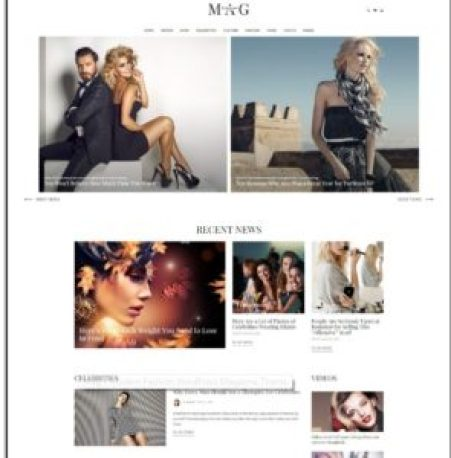 Tema Mag WordPress