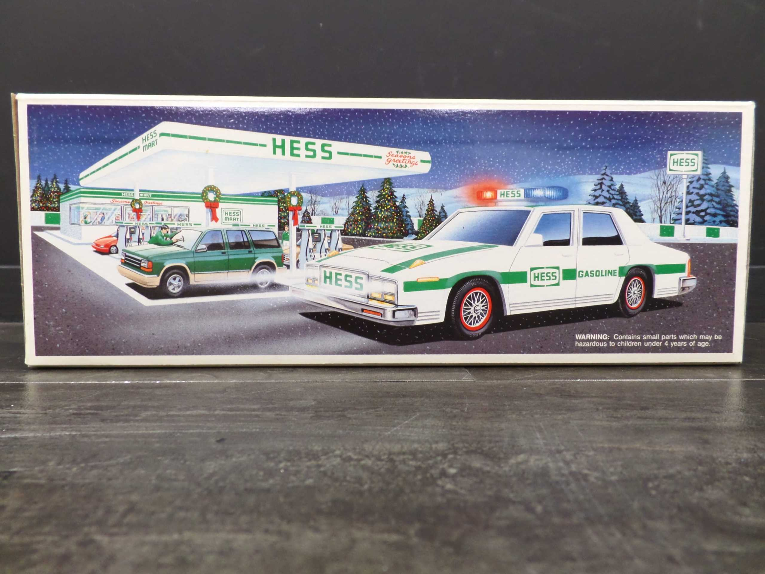 1993 HESS PATROL CAR <br/> Donated by: WPBS SUPPORTER <br/> Buy It Now: $35