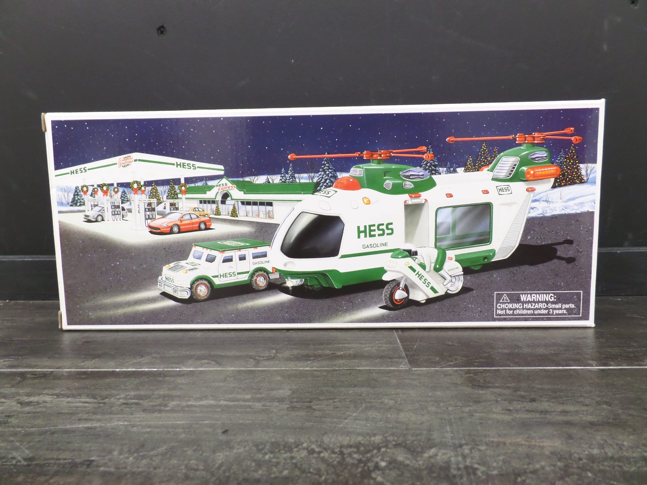 2001 HESS HELICOPTER <br/> Donated by:  WPBS SUPPORTER <br/> Valued at: $75