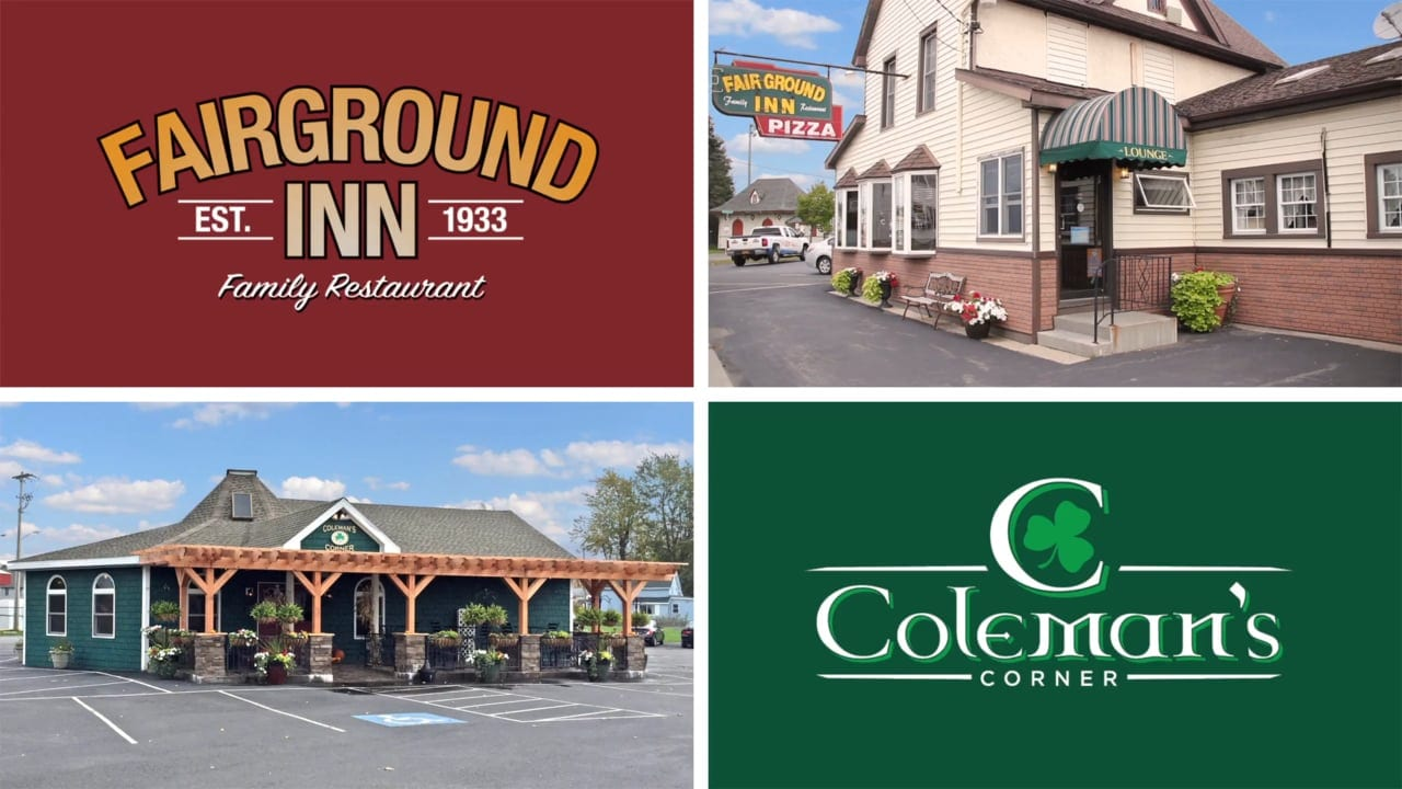 GIFT CERTIFICATE <br/> Donated by: FAIRGROUND INN & COLEMAN'S CORNER <br/> Valued at: $50