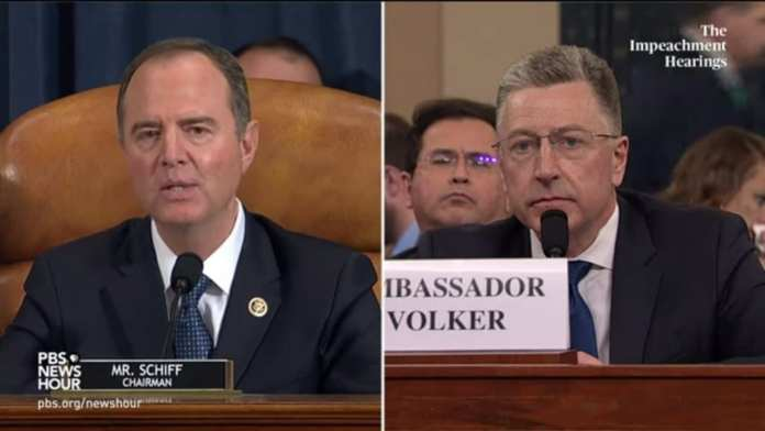 WATCH: All the key moments from the Volker, Morrison Trump impeachment hearing in 10 minutes