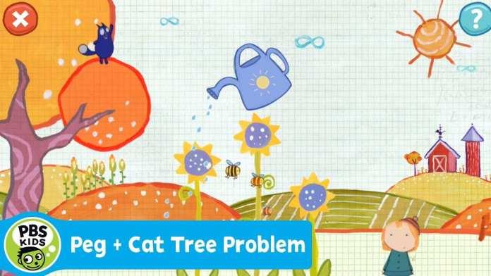 APP | Peg + Cat Tree Problem | PBS KIDS