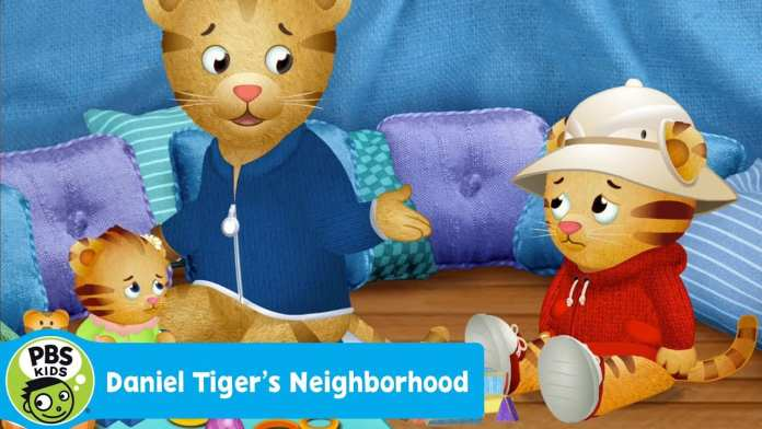 DANIEL TIGER'S NEIGHBORHOOD | Daniel Wants to Play with Dad | PBS KIDS