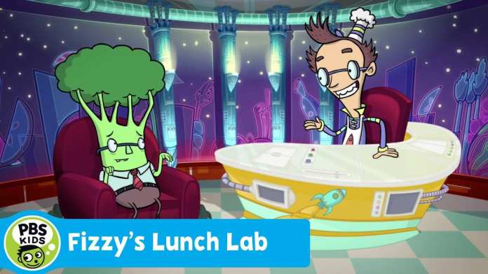 FIZZY'S LUNCH LAB   Lunch Lab Live: Barry Broccoli   PBS KIDS