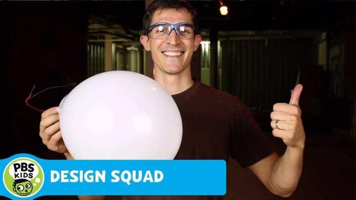 DESIGN SQUAD   Light Up Balloons   PBS KIDS