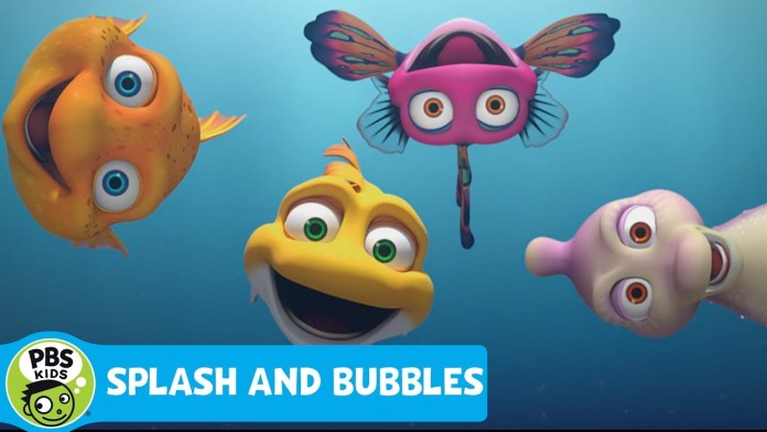 SPLASH AND BUBBLES | Nothing is Better Than Hanging With Friends | PBS KIDS