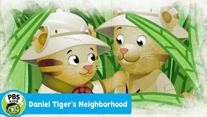 DANIEL TIGER'S NEIGHBORHOOD   Daniel and Dad – The Adventure Tigers   PBS KIDS