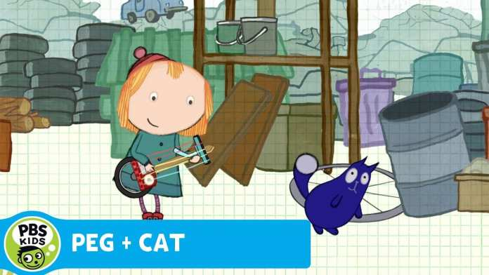 PEG + CAT | Junk Instruments | PBS KIDS
