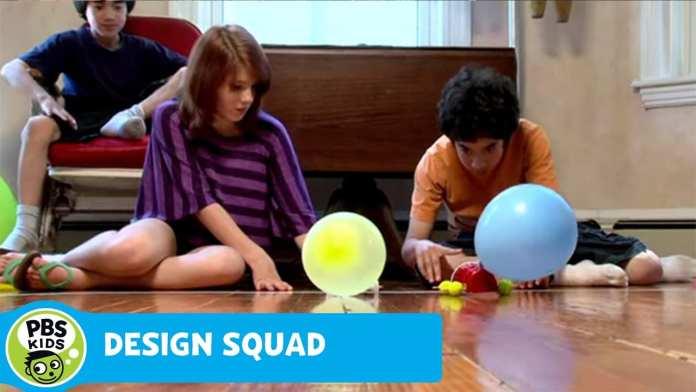 DESIGN SQUAD | DIY Balloon Car | PBS KIDS