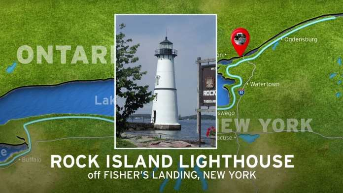 Rock Island Lighthouse | New York's Seaway Lighthouses