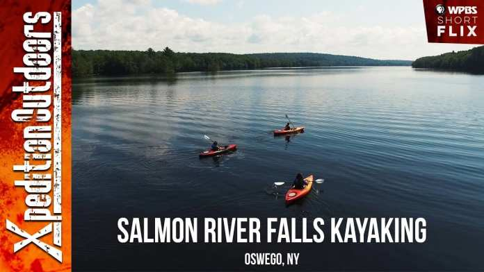 Salmon River Falls Kayaking | Xpedition Outdoors | WPBS Short Flix