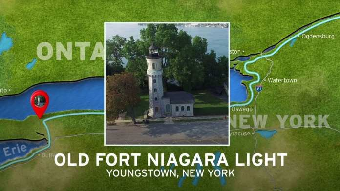 Old Fort Niagara Lighthouse | New York's Seaway Lighthouses
