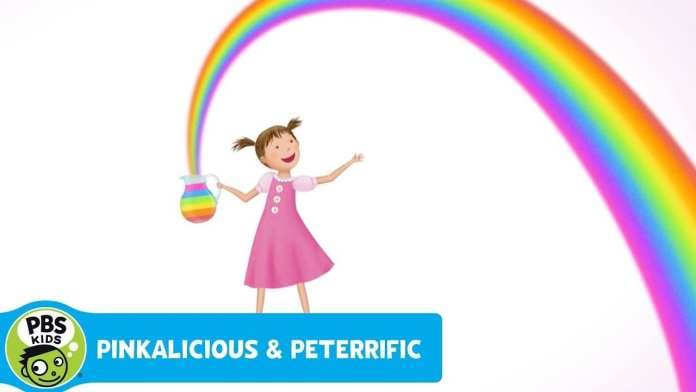 PINKALICIOUS & PETERRIFIC | Rainbow Lemonade | PBS KIDS