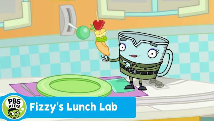 FIZZY'S LUNCH LAB | Food Camp: Fruit Kabobs | PBS KIDS