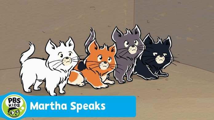 MARTHA SPEAKS | Mitten's Kittens | PBS KIDS