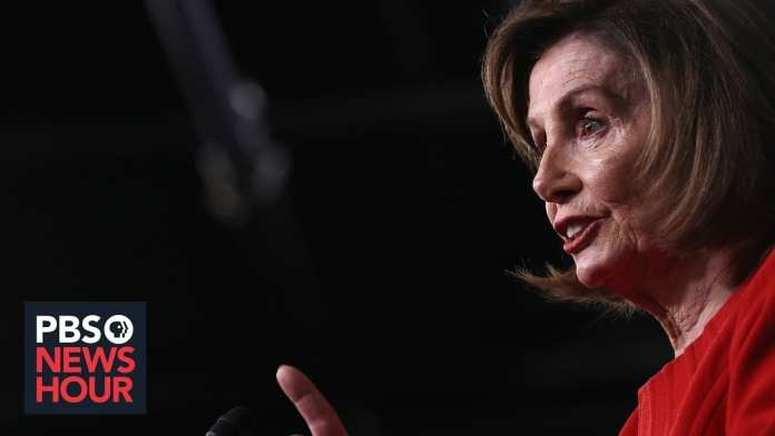 Why Nancy Pelosi is now calling Trump's Ukraine actions 'bribery'