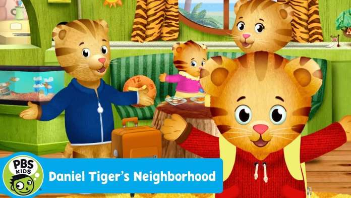 "DANIEL TIGER'S NEIGHBORHOOD | ""The Tiger Family Trip"" Song 
