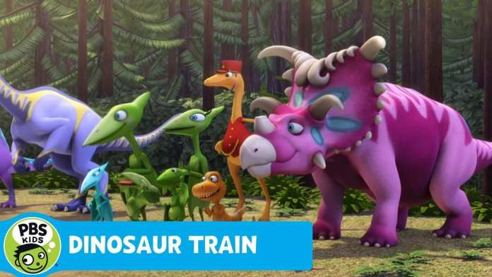 DINOSAUR TRAIN | Crocodile Race | PBS KIDS