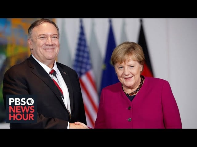 WATCH LIVE: Secretary of State Pompeo holds joint news conference with German Chancellor Merkel