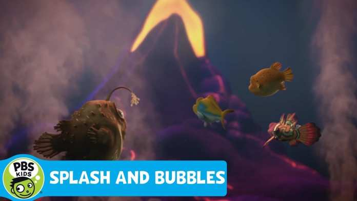 SPLASH AND BUBBLES   Magnificent Magma   PBS KIDS
