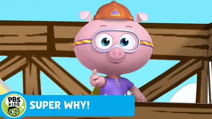 SUPER WHY! | Alpha Pig Builds Alphabet Steps | PBS KIDS