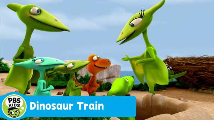 DINOSAUR TRAIN | Camouflage Cloak | PBS KIDS