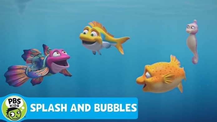 SPLASH AND BUBBLES | Meet Dive | PBS KIDS