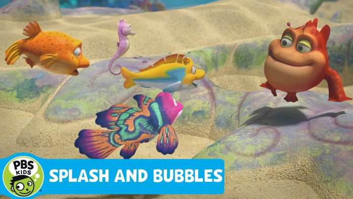 SPLASH AND BUBBLES | Meet Wart | PBS KIDS