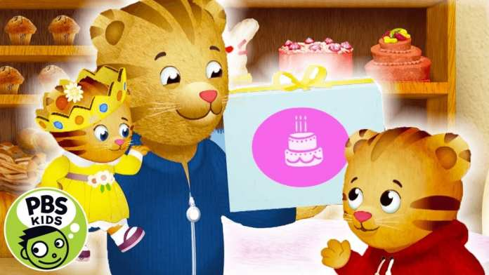 Daniel Tiger's Neighborhood | Baby Margaret's Birthday Cake! | PBS KIDS