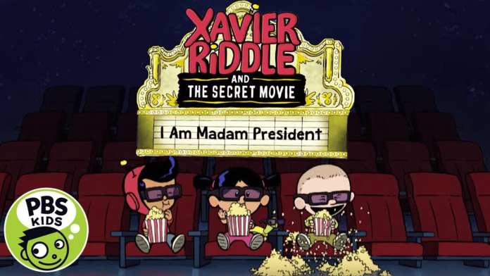 Xavier Riddle and the Secret Movie | Watch I Am Madame President Monday, March 16th on PBS KIDS!