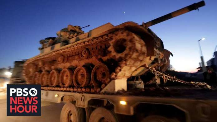News Wrap: Turkish, Syrian forces clash again in Idlib province