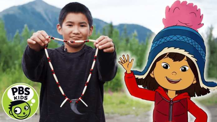 Molly of Denali | How to Make a Beaded Necklace! | PBS KIDS