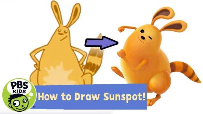 Ready Jet Go! | How to Draw Sunspot! | PBS KIDS