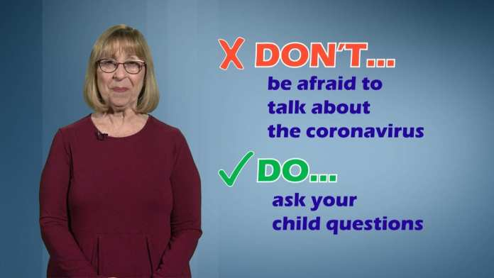 Coronavirus Do's & Don'ts for Parents Talking to Children