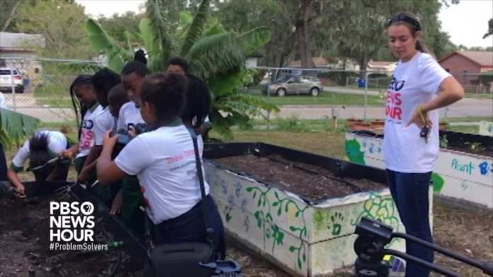 Edible Peace Patch helps students cultivate healthy diets through garden-based education