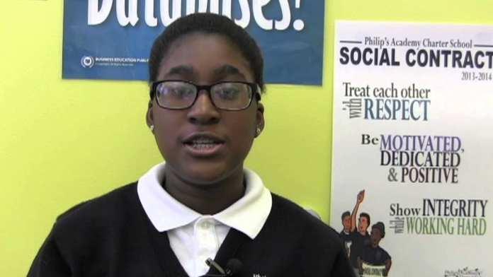 Sophie Sabin, Philip's Academy Charter School